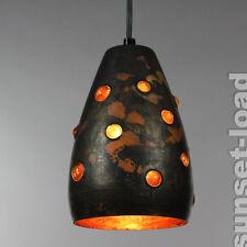 Pendel Lampe Raak Nanny Still McKinney Glas Kupfer Niederlande um 1960 #6/6