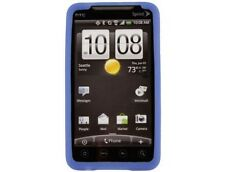 Soft Silicone Phone Cover Dark Blue For HTC EVO 4G