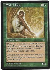 Carte Magic the Gathering: Wall of roots (éd: mirage )
