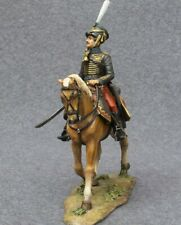 Painted Toy Soldiers Pewter Miniature Hussar Russian Army Napoleonic Wars 54mm
