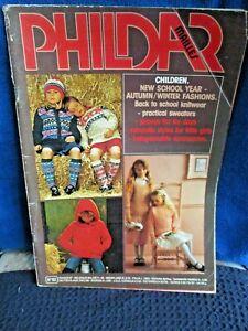 PHILDAR MAILLES CHILDREN KNITTING BOOK NO.62 RETRO VGC