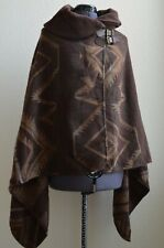 Polo Ralph Lauren Wool-Blend Southwestern Woven Indian Blanket Cape Poncho Wrap