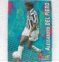 "CALCIATORI PANINI ""CALCIO 97 CARDS"" - ALESSANDRO DEL PIERO della JUVENTUS - n°99"