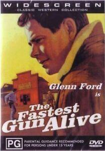 The Fastest Gun Alive DVD Glenn Ford New Sealed Australian Release