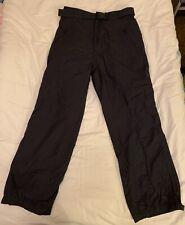 High Tech Mens Ski Pants Size Medium in Black
