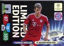 13/14 Panini Adrenalyn Champions League EXCLUSIVE Thomas Muller Limited Edition