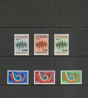 PORTUGAL - 1972 to 1973 - EUROPA CEPT - MINT/NH - Free Shipping