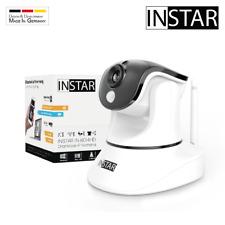 INSTAR IN-6014HD IP-Kamera steuerbare Überwachungskamera Nachtsicht LAN WLAN PIR