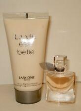 Lancome La Vie Est Belle EDP Mini +Body Lotion 2.0 oz  New