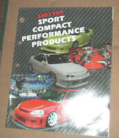 SPECTRE Sport Compact Performance Dealer  Catalog USA 2002 Edition RARE