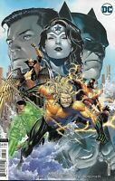 Justice League Comic Issue 25 Limited Variant Modern Age First Print 2019 Snyder