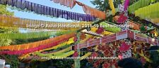 Indian Theme Wedding Decorative Hanging Pankhi 25pc Lot
