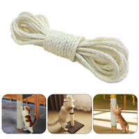 Sisal Rope for Cat Tree Cat Climbing Frame DIY Cats Scratching Post Toys 33FT