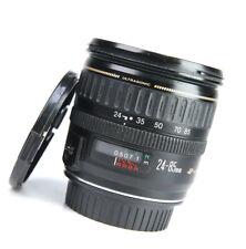 Canon EF 24-85mm F3.5-4.5 USM AF Zoom Lens for EOS SLRs + Front & Rear Lens Caps
