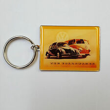 The Volkswagen  OFFICIAL VW Key Ring Campervan Gift Retro Classic Cars 1A