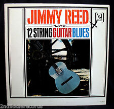 JIMMY REED PLAYS 12 STRING GUITAR BLUES-Rare Promotion Album-VEE JAY #VJLP 1073