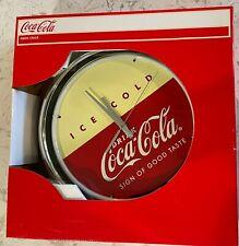 Coca Cola Neon Light Up Clock in box