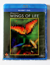 Disney Nature Wings of Life Butterfly Hummingbird Bees Documentary Blu-ray & DVD