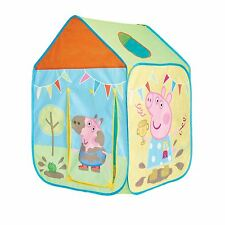PEPPA PIG WENDY HOUSE PLAY POP UP PENT KIDS FUN INDOOR OUTDOOR NEW