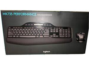 Logitech MK735 Performance Wireless Combo                        -FAST SHIPPING-