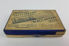 Vintage Isovibrant Maccaferri Fench American Reed EMPTY Box Sax Tenor