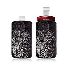 Housse coque étui pochette pour Sony Ericsson Xperia Kyno avec motif