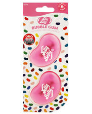 Jelly Belly Bubblegum Mini Vent 3D Gel Duo Pack Air Freshener Car Fragrance