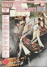 Miniature Wargames No.123 Aug 1993 The Battle Of Barnet * Belgium Independence