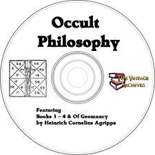 Occult Philosophy Vintage Book Collection on CD - Heinrich Cornelius Agrippa