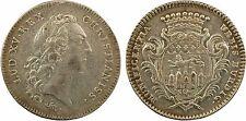 Louis XV, récompense de la ville Bordeaux, par Marteau, s.d., argent, SUP - 14