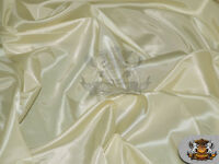 """Taffeta Solid Fabric IVORY / 58"""" Wide / Sold by the yard"""