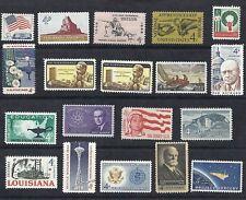 US 1962 Commemorative Year Set of 19, W/ 1179 Civil War & 1191-1208 MNH*