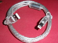 Hochwertiges USB-KABEL HIGH-END m. FERRIT MANTELSTROMFILTER 1,8m   3x     23713