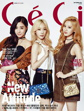 [CECI] September 2015 Magazine KOREA [Girl`s Generation/Wonder Girls] NEW