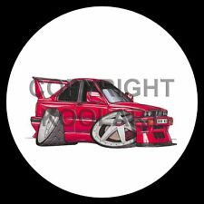 Koolart 4x4 4 x 4 Spare Wheel Graphic Road Cars/Bmw M3 E30 Evo Sticker 383