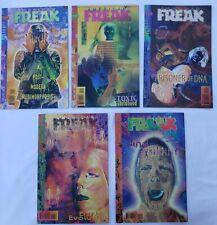 American Freak Complete Run 1-5 NM Vertigo DC Comics Dave Louapre Bruning