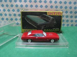 Vintage amt Hobby Kit M 781 - Camaro Ss 396 1969 - 1/43 USA
