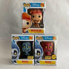 Funko Pop! Hercules Hades Chase Glow in the Dark Hot Topic Exclusive Disney 381