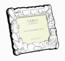 SOLID SILVER BABY / CHILDS / CHRISTENING / BIRTH PHOTO FRAME (BNIB) By Carrs