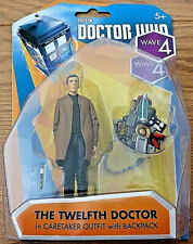 "Doctor Who The 12th Twelfth Doctor in CARETAKER OUTFIT 3.75"" Figure Boxed Sealed"