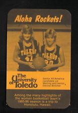 Toledo Rockets--1985-86 Basketball Pocket Schedule