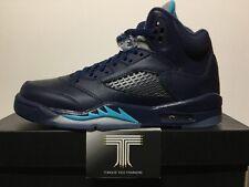 """Nike Air Jordan 5 RETRO BG """"Hornets"""" ~ 440888 405 ~ UK Size 5.5"""