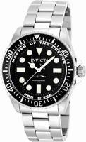 Invicta Pro Diver 20119 Men's Round Black Off White Analog Watch