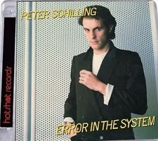 PETER SCHILLING - ERROR IN THE SYSTEM [BONUS TRACKS] USED - VERY GOOD CD