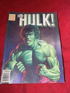 THE HULK MAGAZINE # 24 CLASSIC JOE JUSKO LOU FERRIGNO COVER FEATURE CHAYKIN
