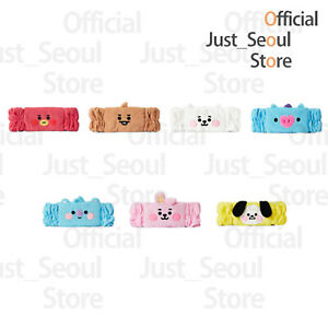 Official BTS BT21 Microfiber Beauty Hair Band Authentic Goods +Freebie +Tracking