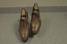 Men's Tan Dress Crockett & Jones Weymouth Hand Grade Leather Shoe UK 8.5D