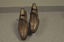Men's Tan Dress Crockett & Jones Weymouth Hand Grade Leather Shoe UK 8.5D