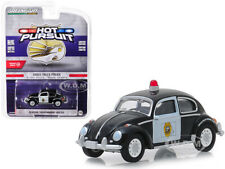 """CLASSIC VOLKSWAGEN BEETLE """"SIOUX FALLS, SD POLICE"""" 1/64 CAR GREENLIGHT 42880 F"""