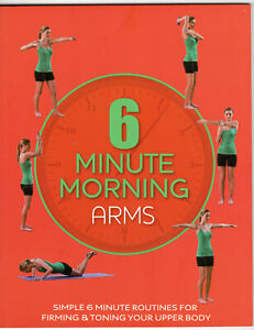 Exercise Instruction book How Loose Weight Book Control Fat Arm 6 Minute Morning